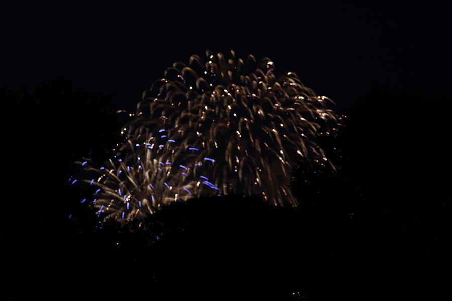 Washington Photograph - 4th Of July Fireworks - 011332 by DC Photographer