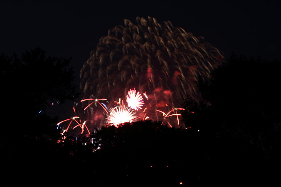 Washington Photograph - 4th Of July Fireworks - 011333 by DC Photographer