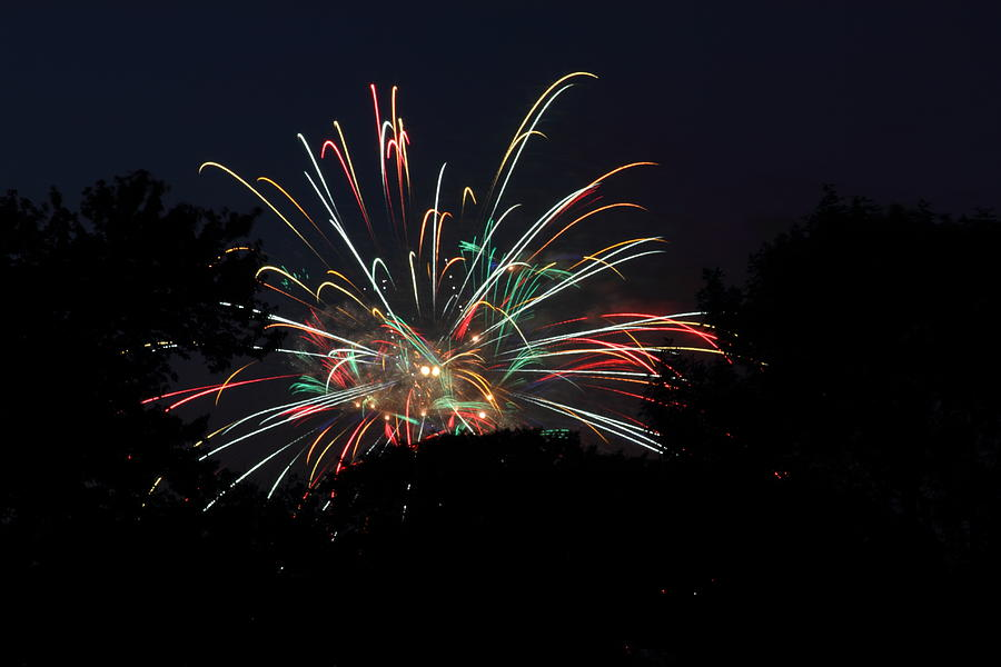 Washington Photograph - 4th Of July Fireworks - 01139 by DC Photographer