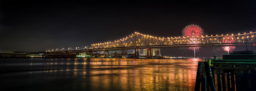 New Orleans Photograph - 4th Of July Over The Big Easy Part Deaux by David Morefield