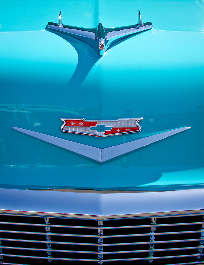 56 Photograph - 1956 Chevy Bel Air by David Patterson