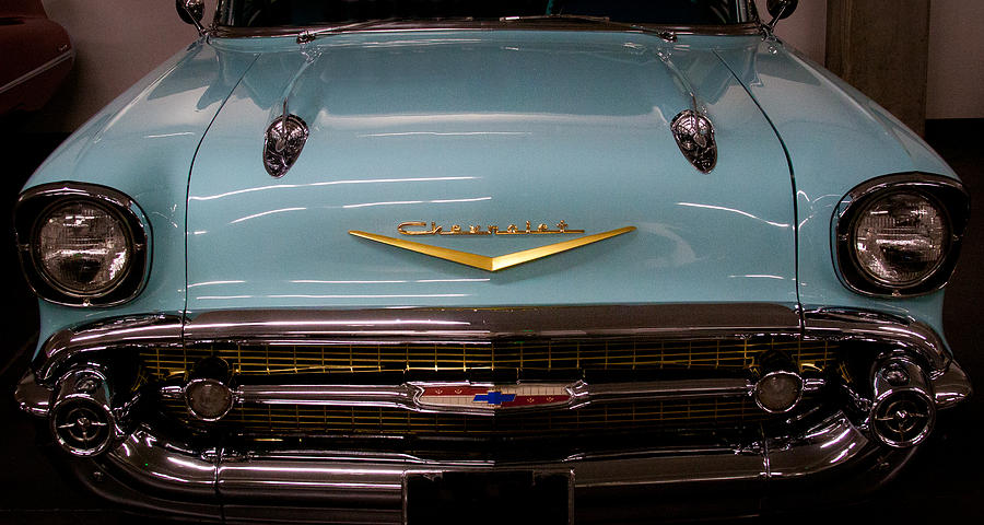 57 Photograph - 1957 Chevy Bel Air by David Patterson