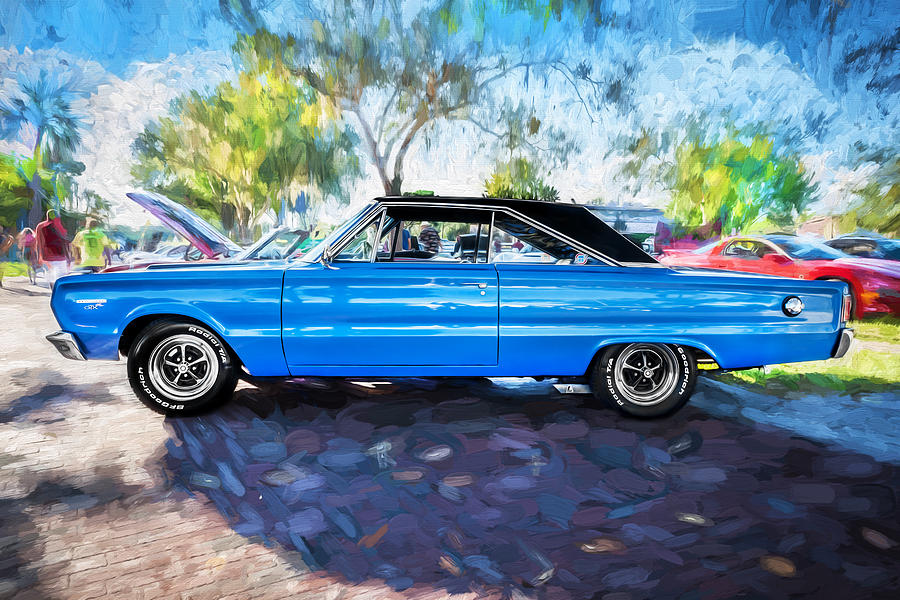 1967 Plymouth Photograph - 1967 Plymouth Belvedere Gtx 440 Painted  by Rich Franco