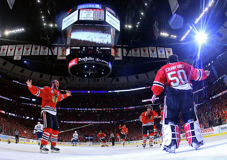 2015 Nhl Stanley Cup Final - Game Six Photograph by Bruce Bennett