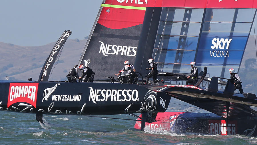America's Cup Photograph - Americas Cup San Francisco by Steven Lapkin