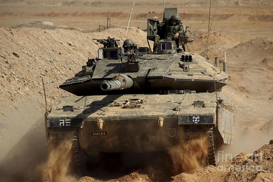 Merkava MK2 / MK3 Israeli Defence Force - Warmachines No.11 - OOP!