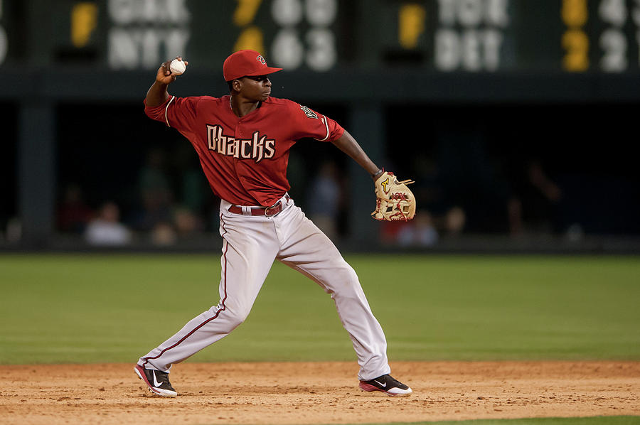Arizona Diamondbacks V Colorado Rockies Photograph by Dustin Bradford