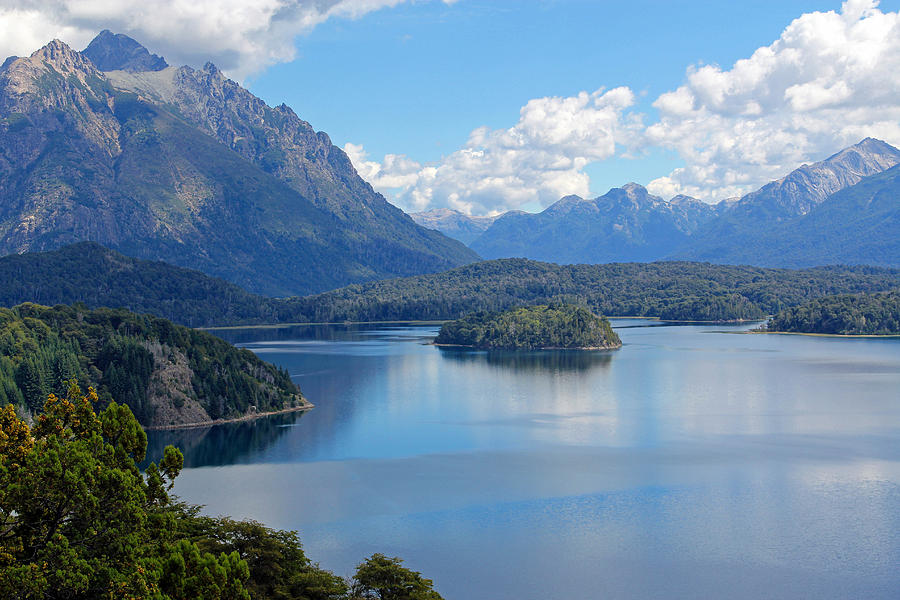 Bariloche Photograph - Bariloche Argentina by Jim McCullaugh