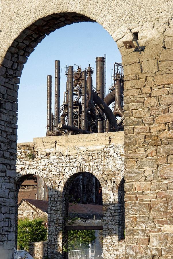 Bethlehem Steel Photograph - Bethlehem Steel by Michael Dorn