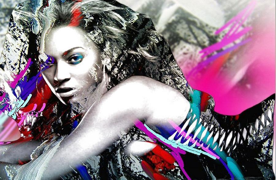 Beyonce Painting - Beyonce by Bogdan Floridana Oana