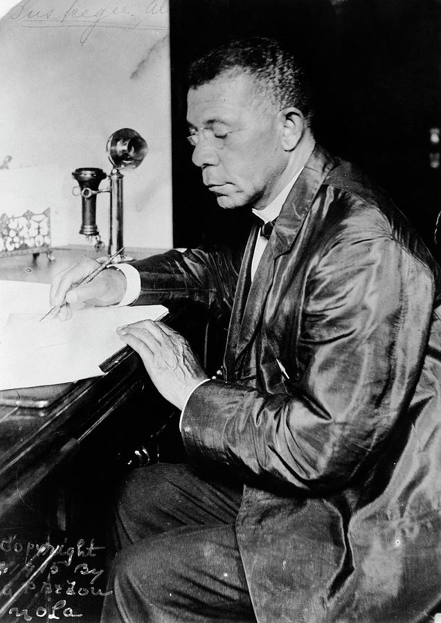 1915 Photograph - Booker T by Granger