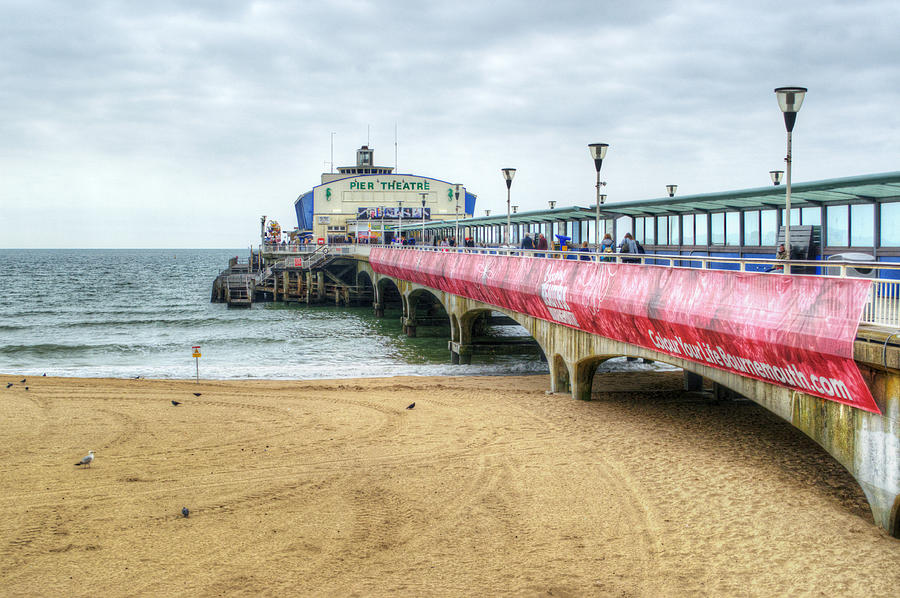 Bournemouth Pier Photograph - Bournemouth Pier by Chris Day