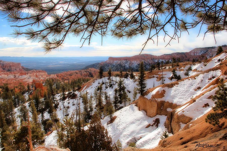 Bryce Canyon Photograph - Bryce Canyon by Marti Green