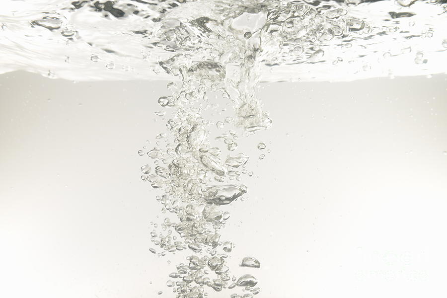 Freshness Photograph - Bubbles Underwater by Sami Sarkis