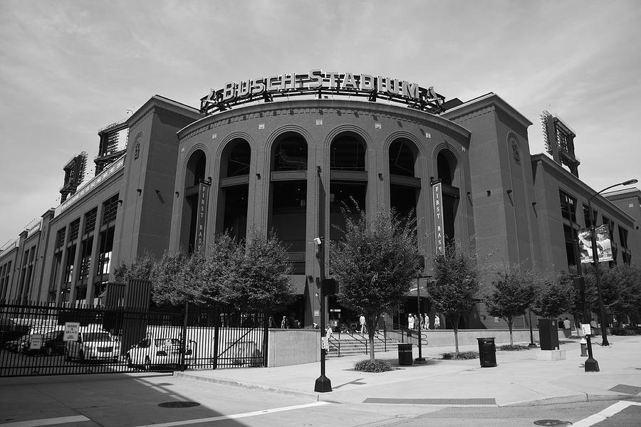 America Photograph - Busch Stadium - St. Louis Cardinals by Frank Romeo