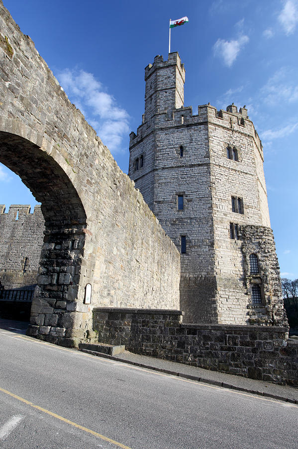 Castle Photograph - Caernarfon Castle by Ollie Taylor