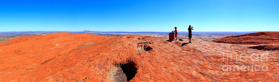 Central Australia Photograph by Bill  Robinson
