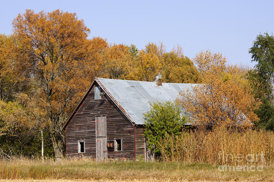 Barn Photograph - Changing Colors by Lori Tordsen