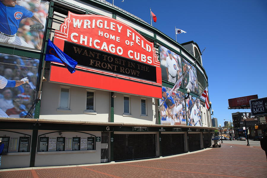 Addison Photograph   Chicago Cubs   Wrigley Field By Frank Romeo Part 47