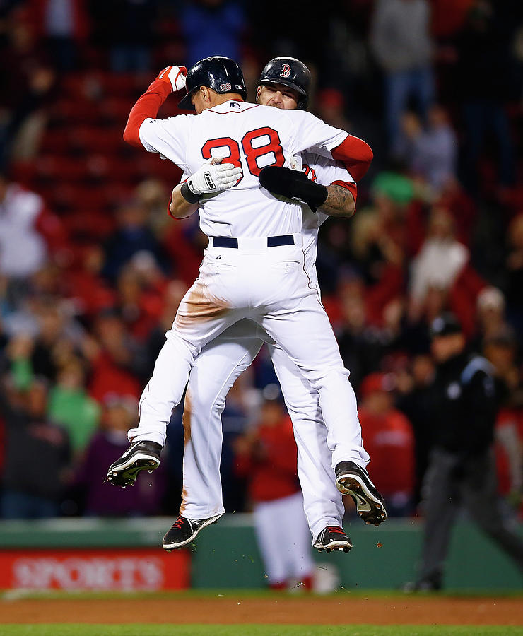 Cincinnati Reds V Boston Red Sox Photograph by Jared Wickerham