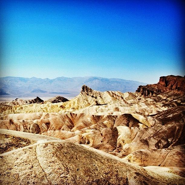 Nature Photograph - Death Valley by Luisa Azzolini