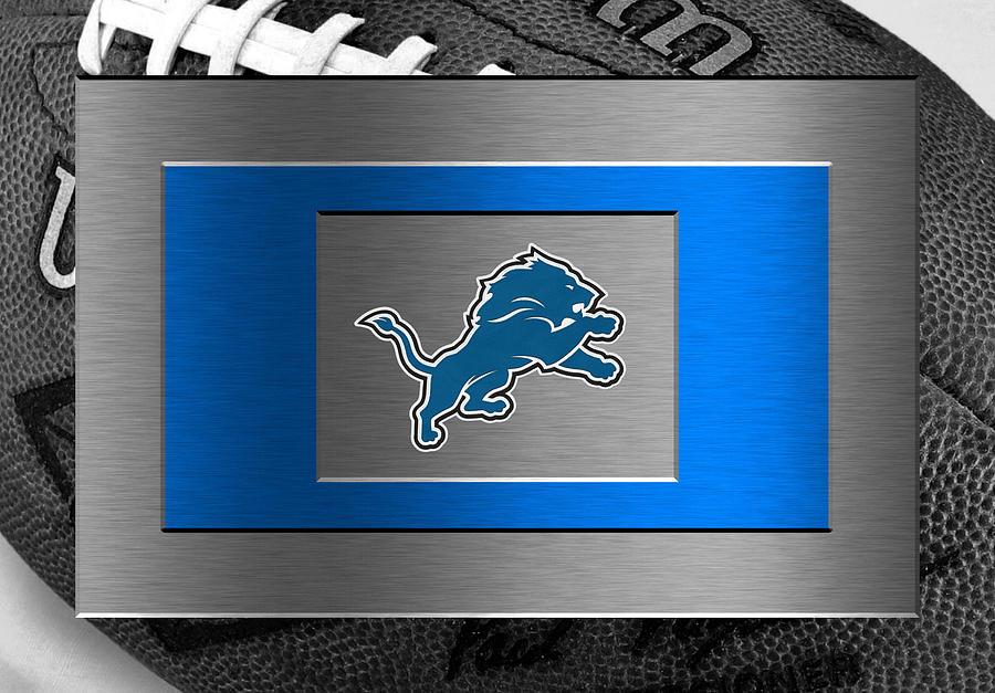 Lions Photograph - Detroit Lions by Joe Hamilton