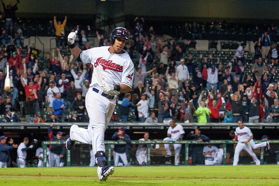 Detroit Tigers V Cleveland Indians 5 Photograph by Jason Miller