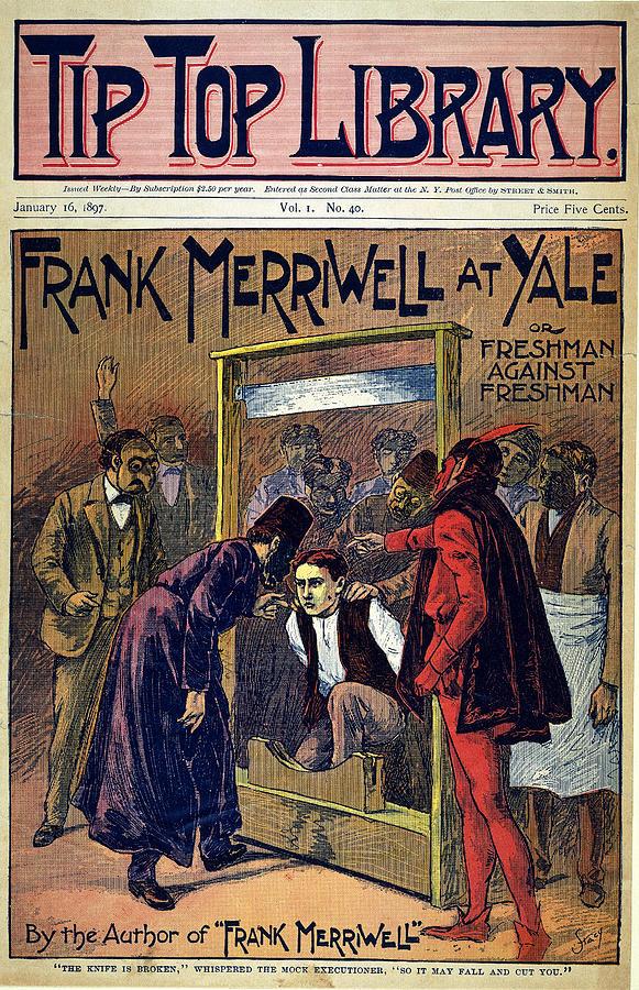 1897 Drawing - Dime Novel, 1897 by Granger