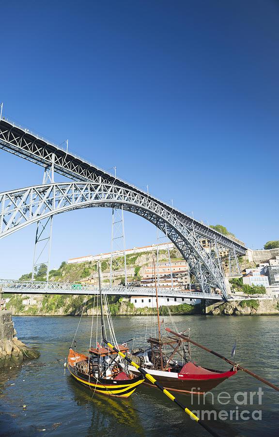 Dom Luis Bridge Porto Portugal Photograph