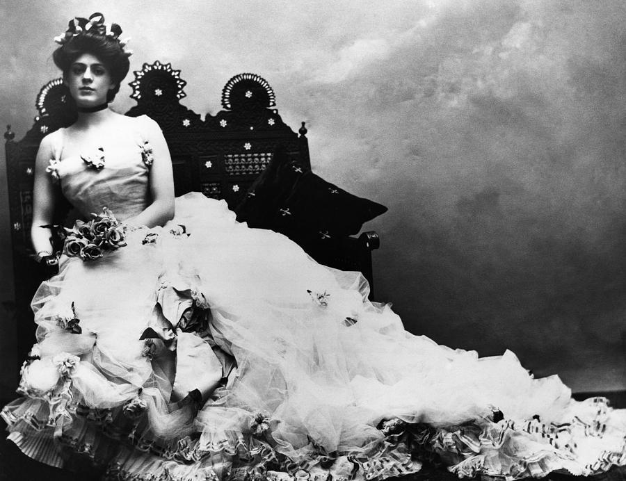 1900 Photograph - Ethel Barrymore (1879-1959) by Granger