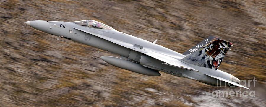 Aircraft Photograph - f18 by Angel  Tarantella