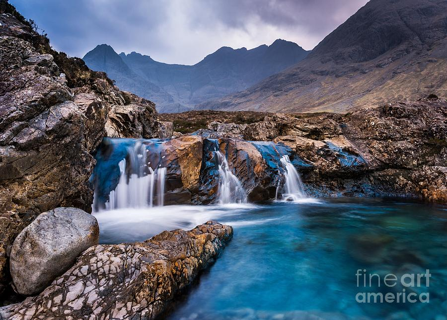 Afternoon Photograph - Fairy Pools by Maciej Markiewicz