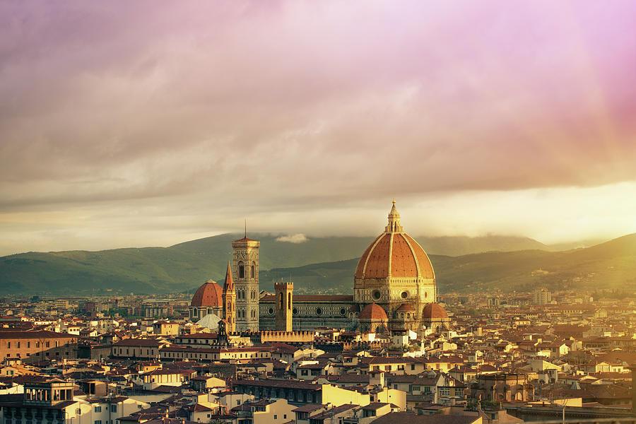 Florence, Santa Maria Del Fiore Photograph by Deimagine