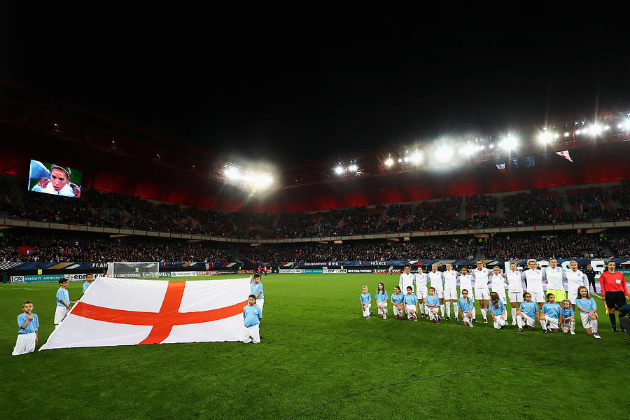 France Women v England Women - International Friendly Photograph by Dean Mouhtaropoulos