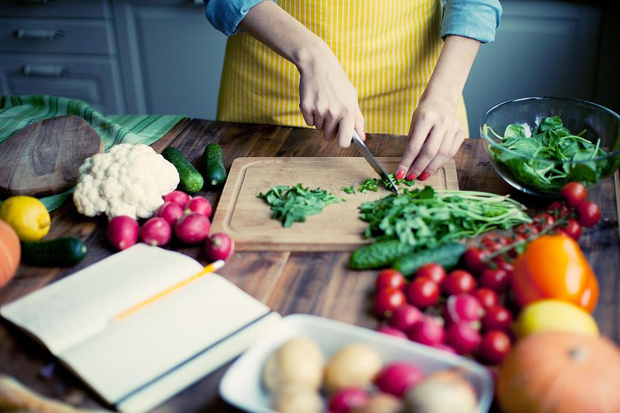 Fresh vegetables Photograph by Yulkapopkova