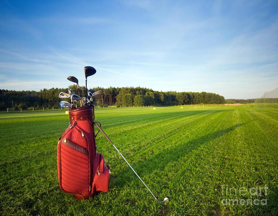 Golf Gear Photograph