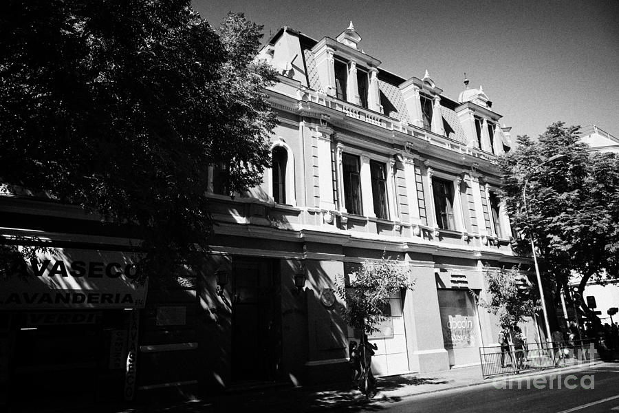 General Photograph - headquarters of the fire department of Santiago Chile by Joe Fox