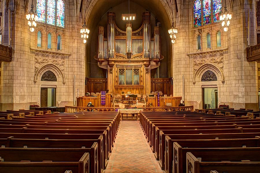 Mn Churches Photograph - Hennepin Avenue Methodist Church by Amanda Stadther