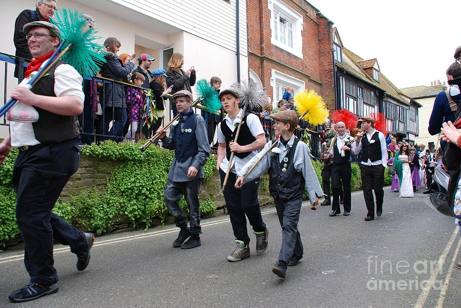 Jack Photograph - Jack In The Green Festival Hastings by David Fowler