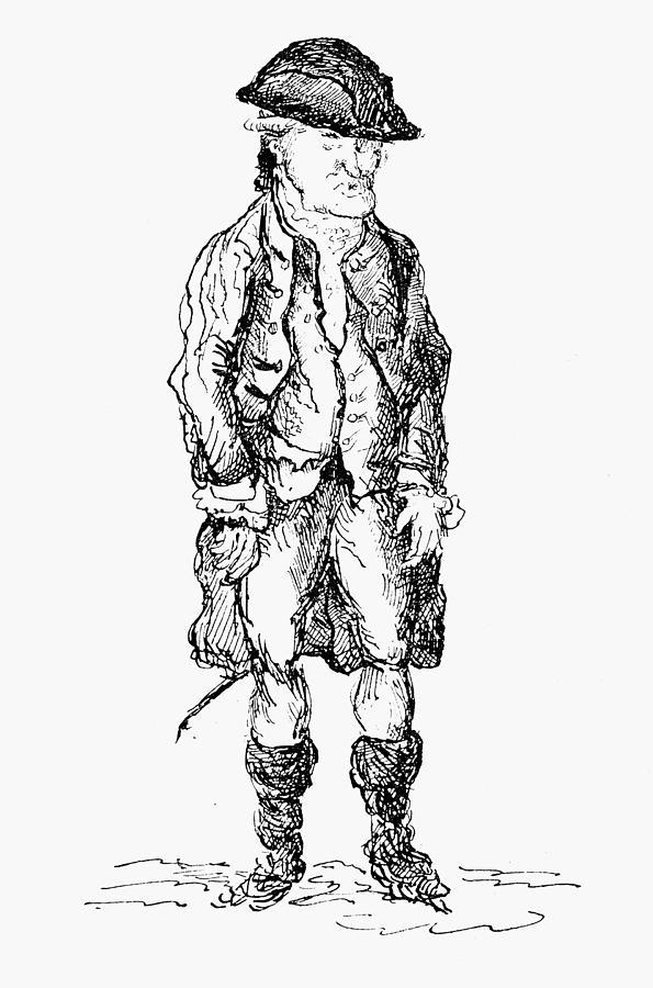 18th Century Drawing - John Wilkes (1727-1797) by Granger