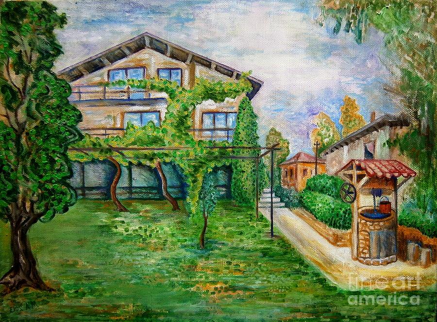 Landscape Painting - Landscape by Milen Litchkov