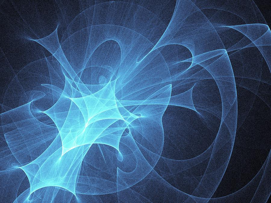 Abstract Photograph - Light Pattern by Alfred Pasieka