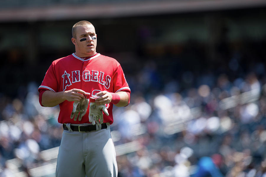 Los Angeles Angels Of Anaheim V New Photograph by Rob Tringali