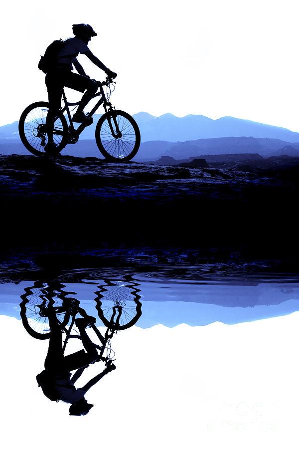 Mountain Biking Photograph