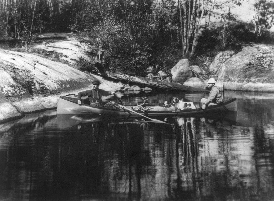 1889 Photograph - New York Adirondacks by Granger