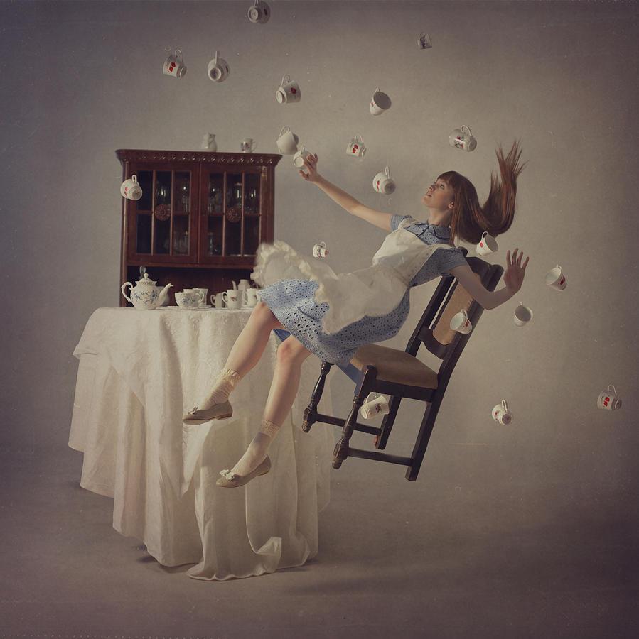 Tea Photograph - 5 Oclock by Anka Zhuravleva