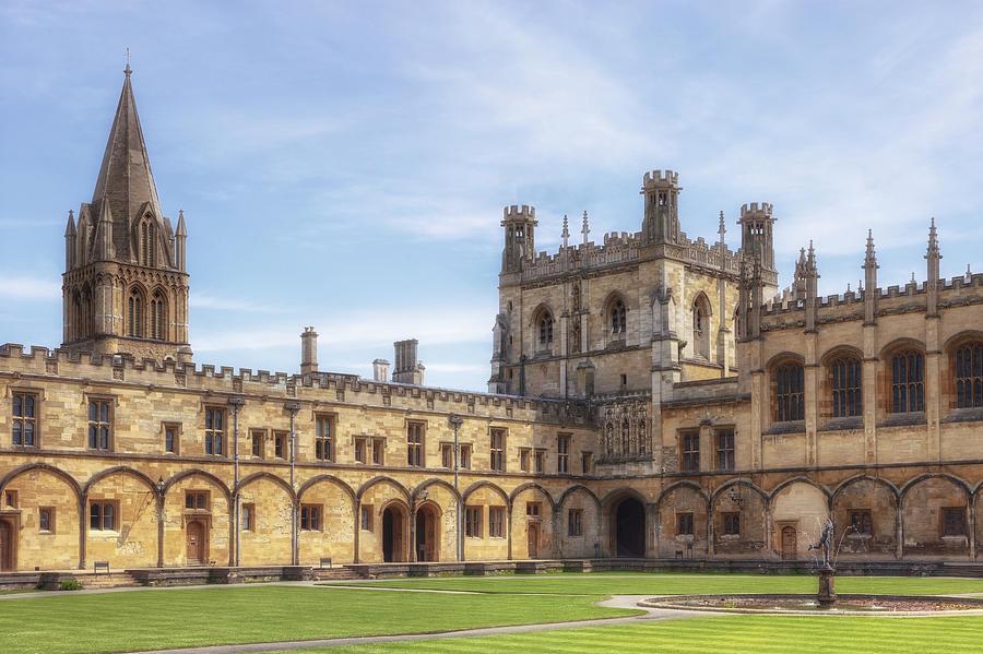 Christ Church College Photograph - Oxford by Joana Kruse