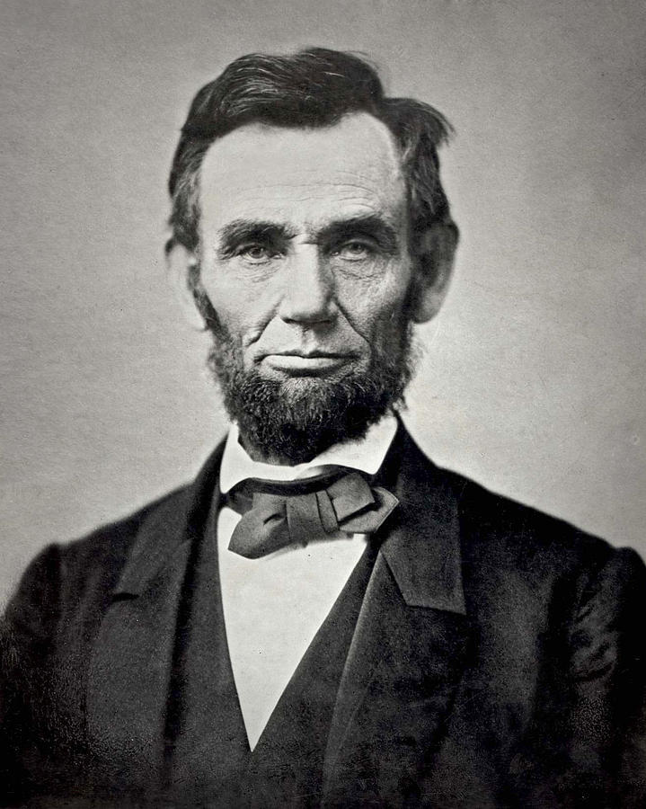 Classic Photograph - President Abraham Lincoln by Retro Images Archive