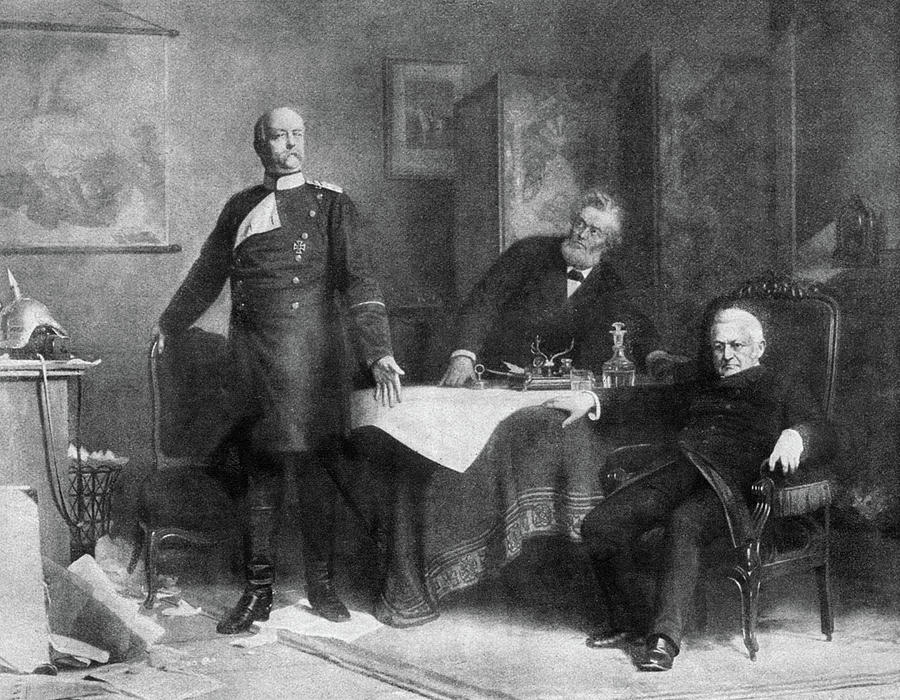 1871 Painting - Prince Otto Von Bismarck (1815-1898) by Granger