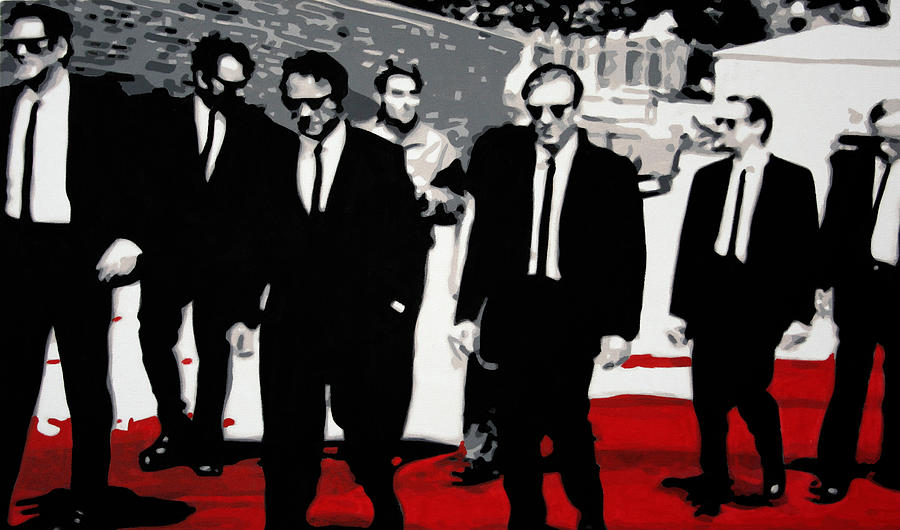 Ludzska Painting - Reservoir Dogs by Luis Ludzska